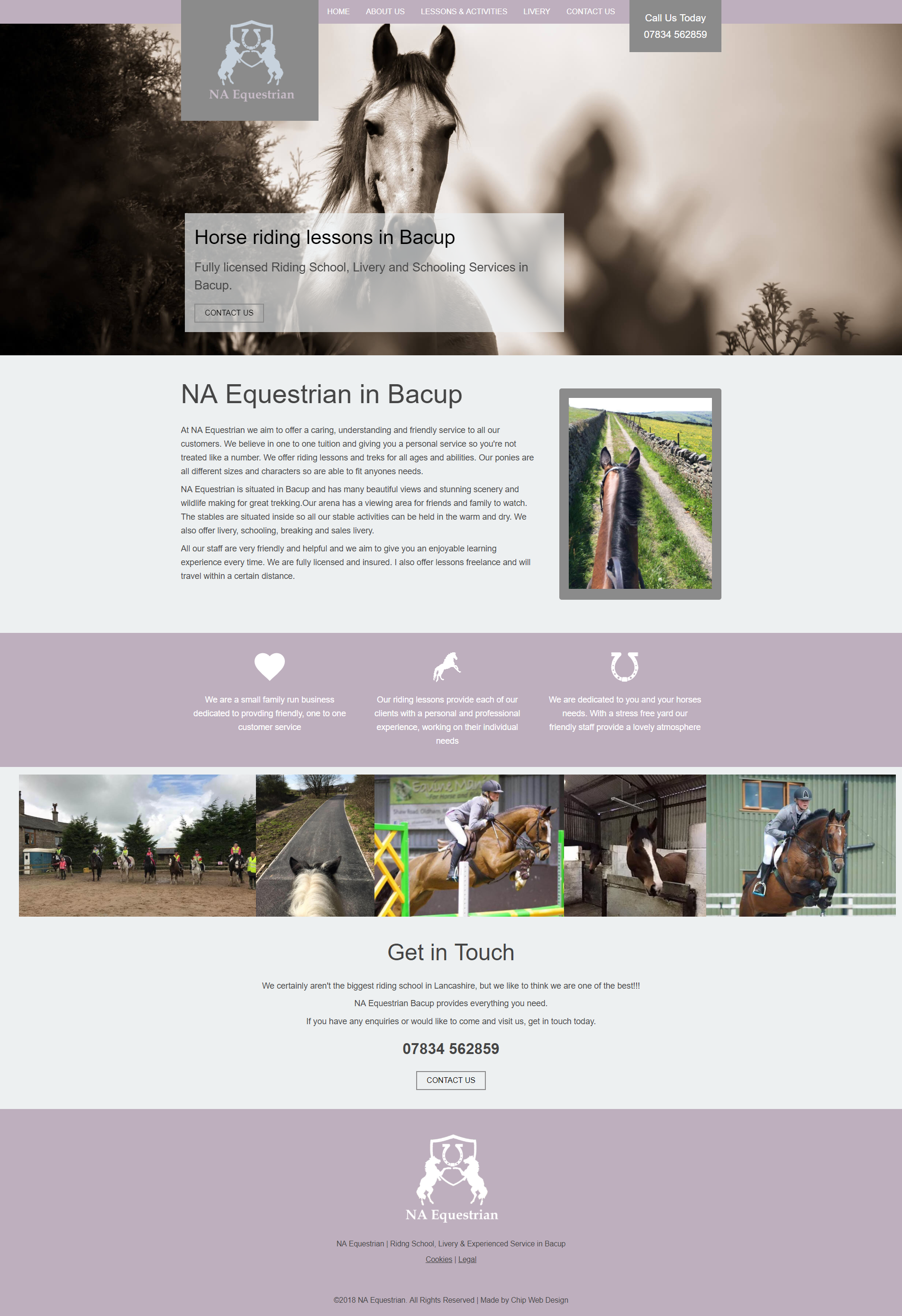 NA Equestrian website